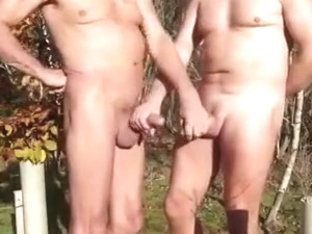 Strangers have cock fun