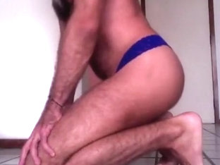 Shaggy wazoo & hard schlong in pants, and massive cum discharged