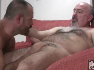 Video - 001 - Strong male, big dick hairy fucking fat bastard!