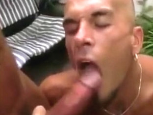 2 cocks 1 mouth