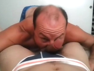 Cute BF is masturbating in the apartment and filming himself on web cam