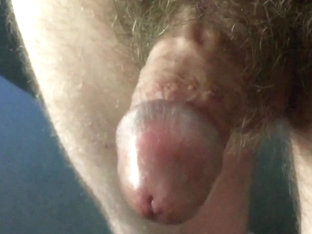 Small cock - closeup wank and cum