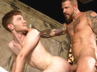 Permission featuring Seamus O'Reilly, Rocco Steele - FistingCentral
