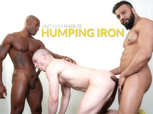 Osiris Blade & Caleb King & Damian Flexxx in Humping Iron XXX Video - NextdoorEbony