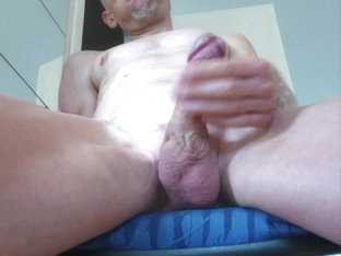 My White Warm Thick Cum Flying Heavy!