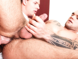 James & Greg in Men In Uniform #03 Video - MaleReality