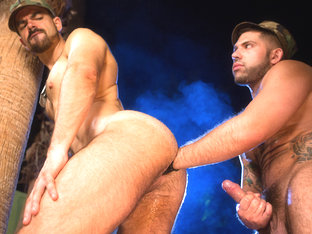 Alessandro Del Toro & Dolan Wolf in Enlist Your Fist, Scene #01