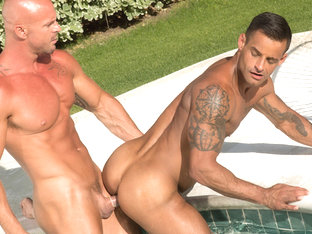 Mitch Vaughn & David Benjamin in Trunks 8 Video