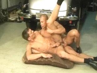 Fabulous male pornstars Mario McCabe and Breno Lopez in crazy blowjob, latins homosexual adult mov.