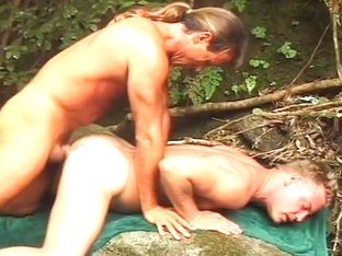 Horny Gay White Guys Fucking Outdoors