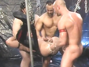 Fabulous homemade gay video with Fisting, Fetish scenes