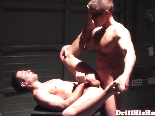 Muscular bottom loving stud gets pounded