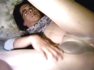 Crossdresser masturbation