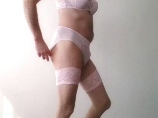 Chantelle lingerie crossdress