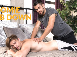 Charlie Pattinson & Dante Colle in Roomie Rub Down - NextdoorStudios