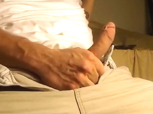 3-day load jerked out of my dick