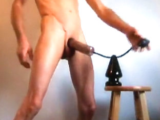Anal and dick play with a pump, biggest plug and my fist