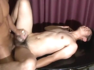 Str8 Asian Get A Big Cock in the Ass