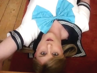 Japanese school uniform - self facial