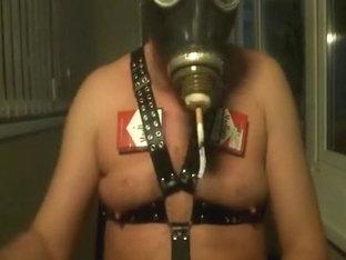 my old faithful friend black gas mask