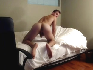Alpha Chad Strips Out of His Underwear and Fingers His Ass (No Cum)