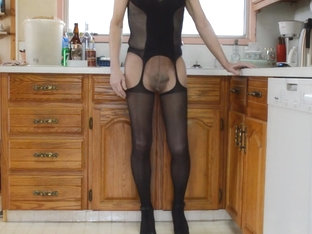 More Lingerie Pantyhose and High Heels