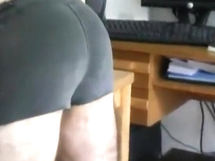 Cane across tight rugby shorts and bare (vid 3)