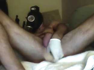 Gas Mask & Sextoy Play