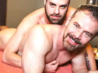 Marcus Isaacs & Max Sargent in Rubdown Romance Video