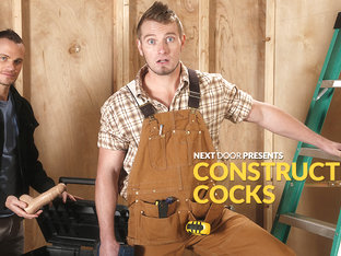 Jake Karhoff & Luca Rosso in Constructive Cocks XXX Video - NextdoorBuddies