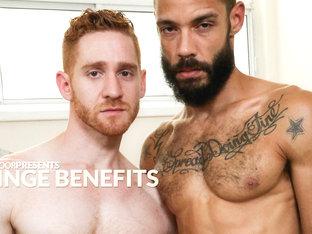 Dylan Henri & Leander in Fringe Benefits XXX Video - NextdoorEbony