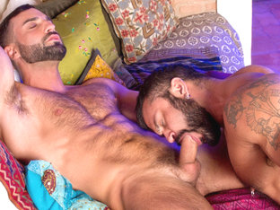 Rogan Richards & Abraham Al Malek in The Tourist Video
