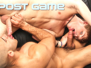 Austin Wilde & JD Evans in Post Game XXX Video