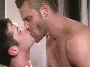 Amazing male in incredible uniform homosexual porn video