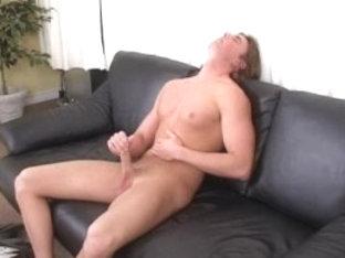 Hottest male pornstar in fabulous masturbation, solo male gay adult clip