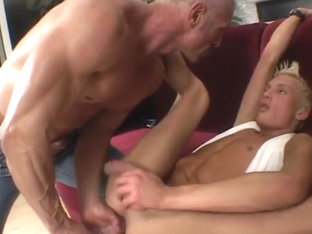 Masturbating Twink Takes A Painful Fuck