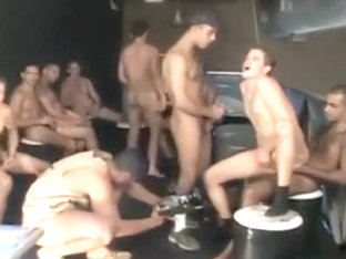 Brazilian gang bang fiesta