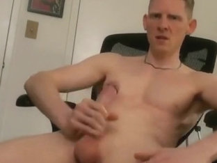 HARD COCK SHOWOFF, THEN MOAN AND SPRAY BIG LOAD
