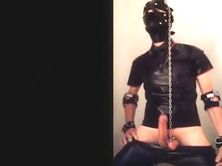 rubber thrall acquires beatings & kicks - part three