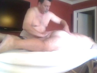 Big Hairy GrandPa Gets a Prostate Massage and More