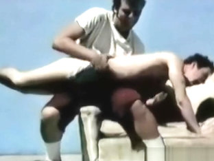 Vintage Gay Athletes Get Spanked