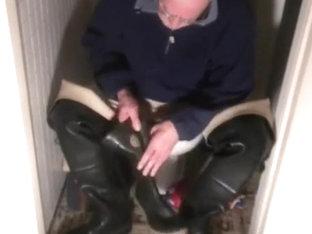 nlboots - waders long johns toilet