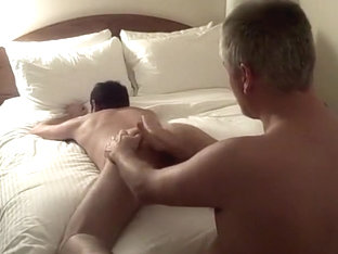 Hotel rimjob and anal