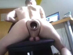 extreme gaping fetish cunt hole and ball torture