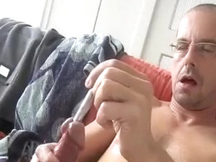 Thursday, 9mm sounding so sexy! Cum twice, one time with semen..