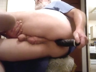 dildo pounding my arse sideways1