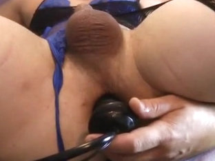 Tight girlsy ass toyed