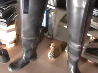 nlboots - bata waders - jerking off - coveralls