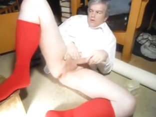 Dad jerking off