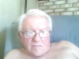 Grandpa show on cam 4